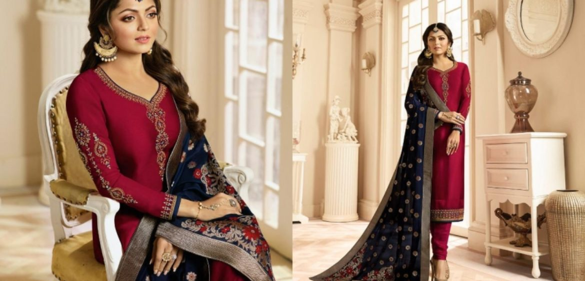 10304d1f0d Nitya Vol 131 Satin Georgette LT Suits