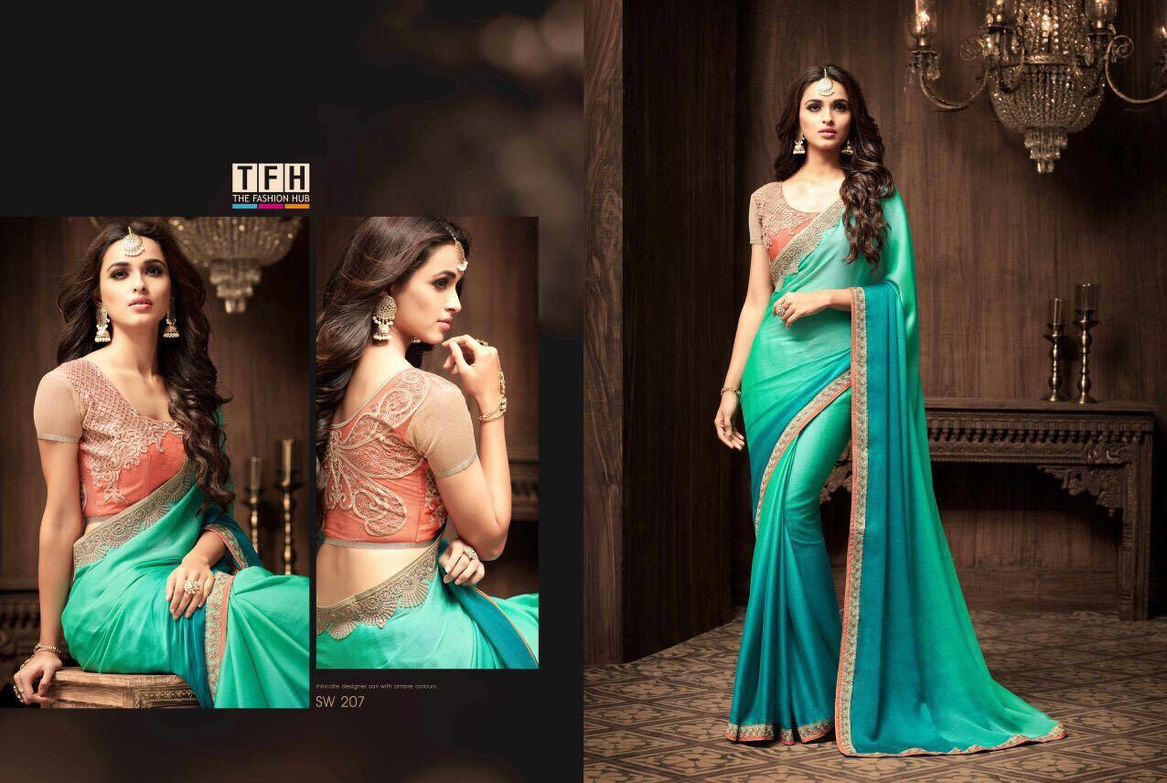 5947e56edd9210 7, Sandal Wood 2, 791, 207, Fabric: Korian Silk Chiffon ...